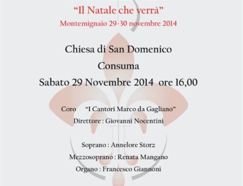 """Concerto Coro """"I cantori Marco da Gagliano"""""""