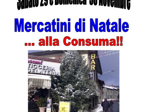 Mercatini di Natale…alla Consuma