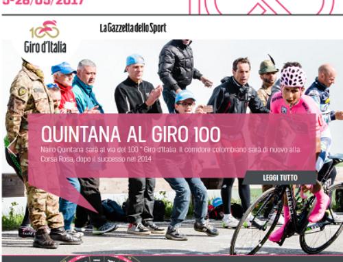 Passaggio Giro d'Italia 2017
