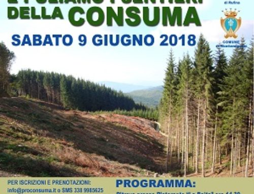 Camminiamo e Puliamo i sentieri della Consuma  – III edizione  Con la collaborazione di AER e di SEI